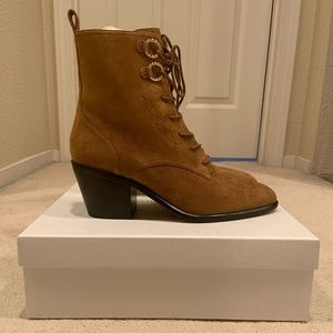 11c44641b0dc Diane Von Furstenberg Shoes - NEW Diane Von Furstenberg Dakota Lace up Boots